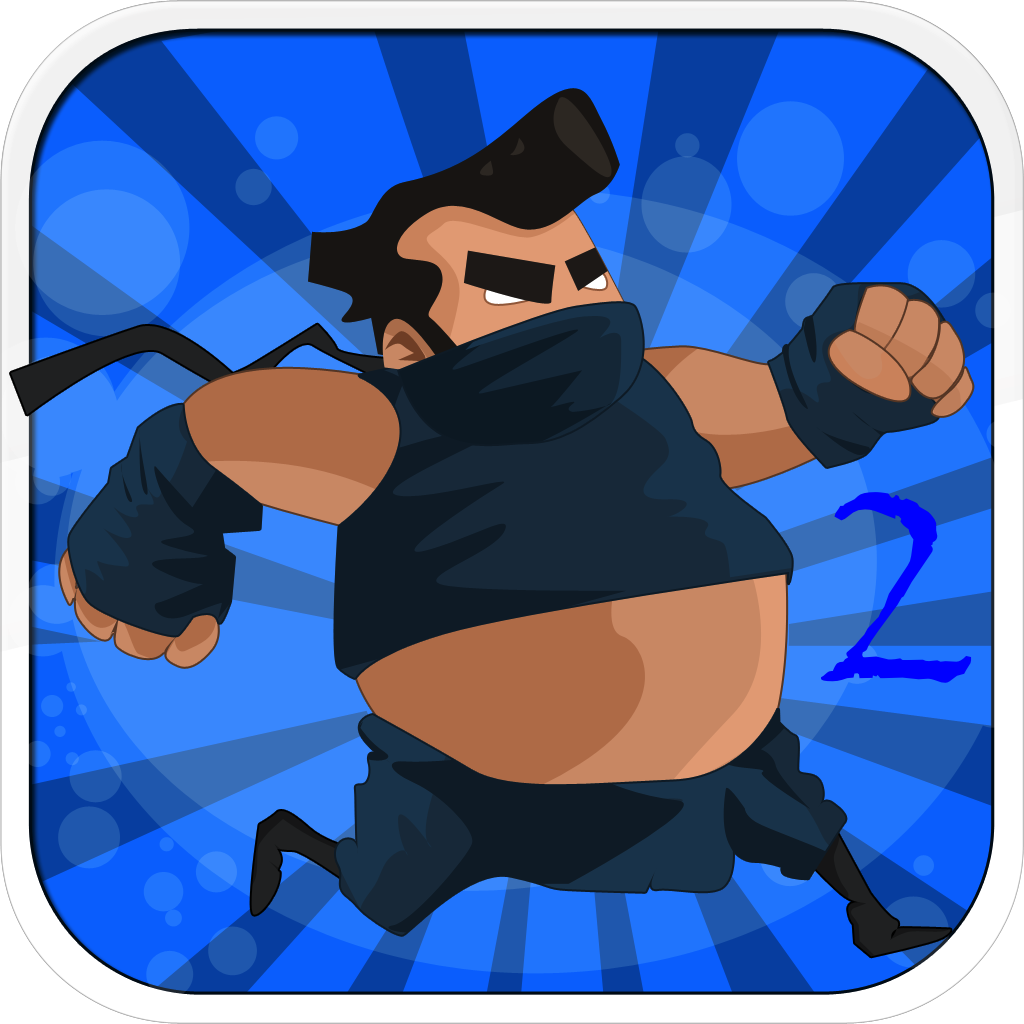 Ninja Sumo 2 - Fun Run Jump and Shoot